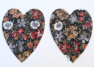 Brown Floral Heart Elbow patches no border_opt