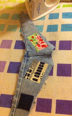 Vintage-Patch New adhesive test patches