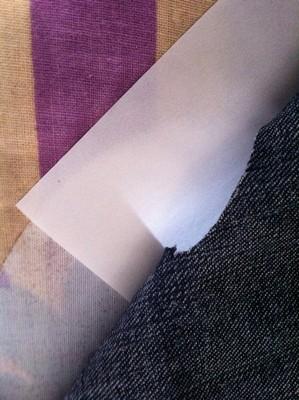 Vintage-Patch Jeans Reverse Repair allow margins