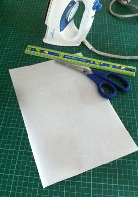 Iron On Adhesive Sheet from Vintage-Patch Small