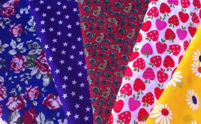 Vintage-Patch New fabrics May 2013
