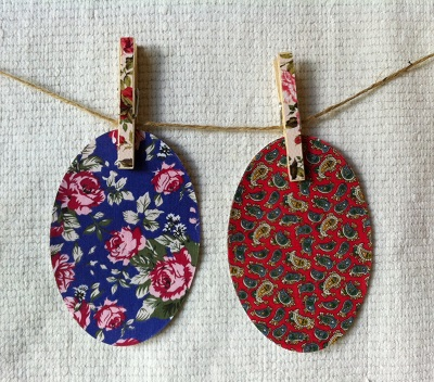 Paisley and Rose Spring 2013 Iron on Elbow Patches by Vintage Patch