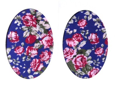 Vintage-Patch Purple Tea Rose Elbow Knee Patches Small