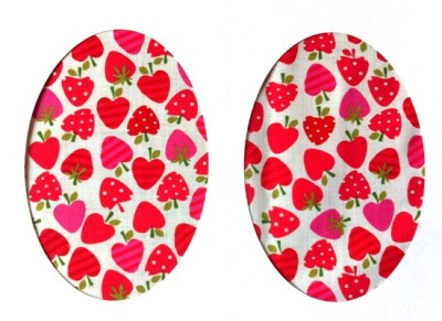Vintage-Patch Strawberry Selection Elbow Knee Patches Small