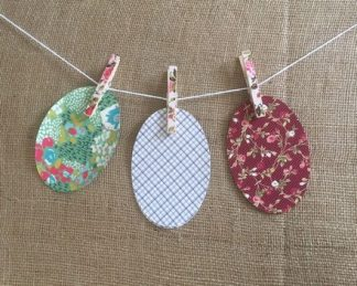 Patterned Cotton Patches