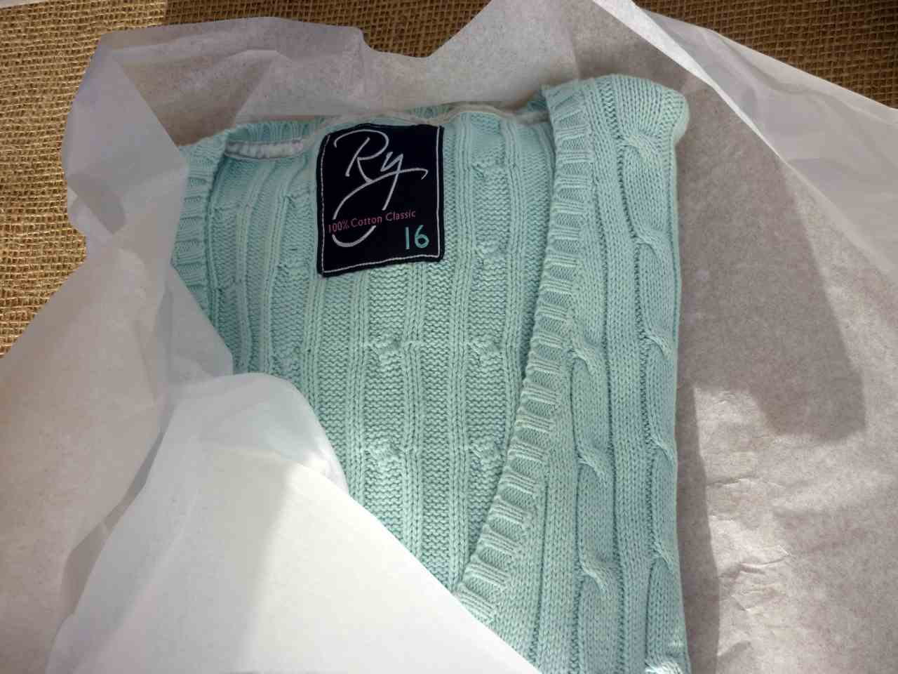 Vintage-Patch.co.uk Rydale jumper packing