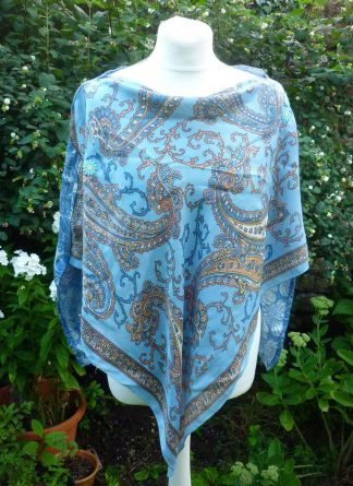 Vintage Scarf Poncho Style Capelets